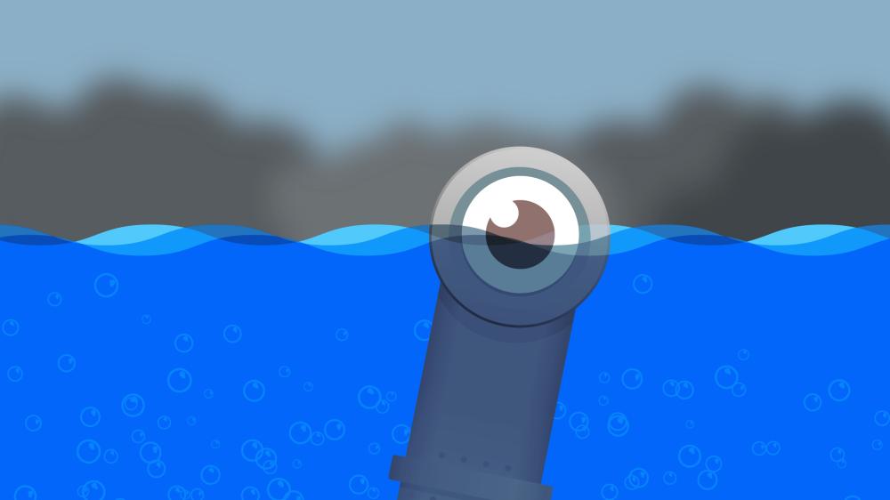 periscope-sunk